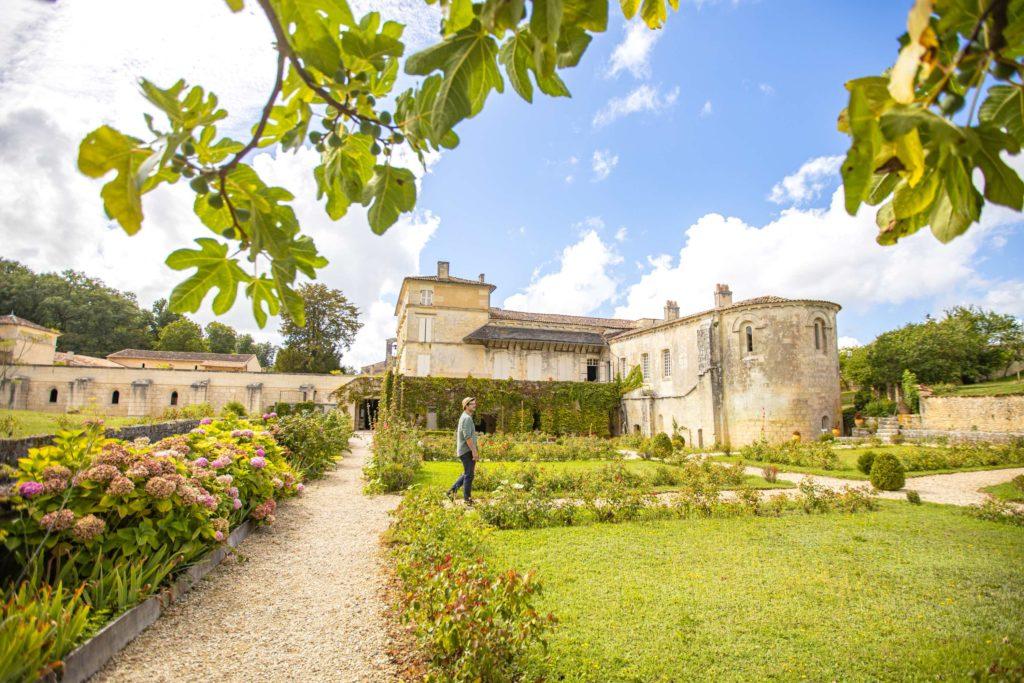 Abbaye de Fontdouce jardin