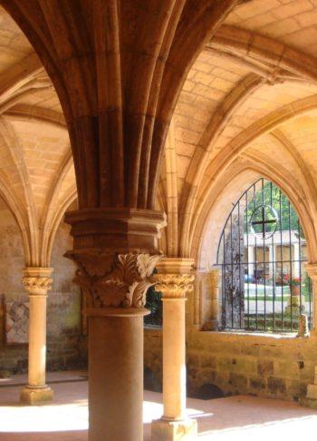 Abbaye de Fontdouce salle capitulaire