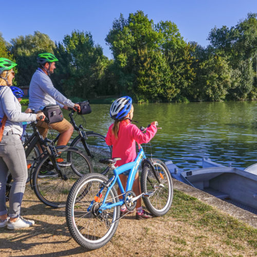 Flow vélo Port d'Envaux