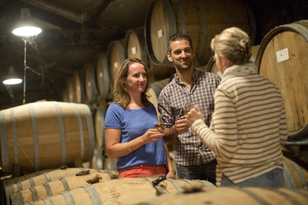 degustation visite producteur cognac pineau