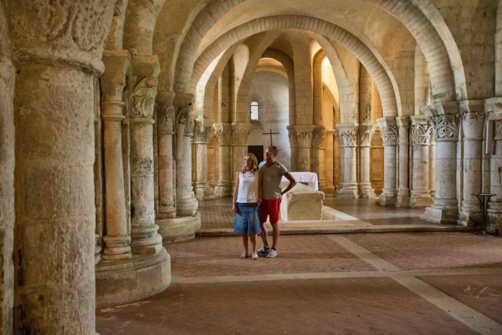 Eglise St Eutrope - crypte