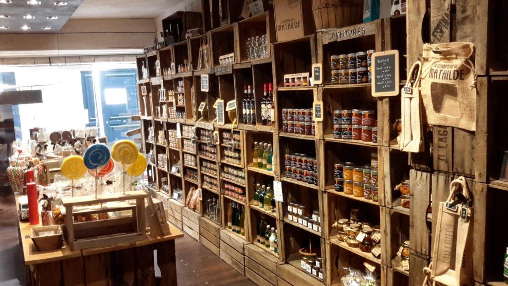 Boutique produits locaux Saintes