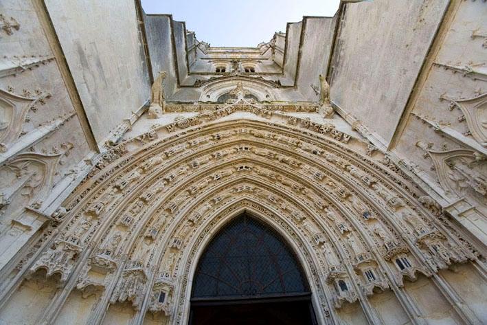 Portail Cathédrale Saint Pierre Saintes