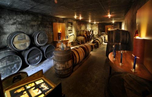 Ecomusée du cognac - intérieur