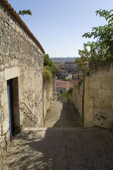 ruelle de l'hospice Saintes