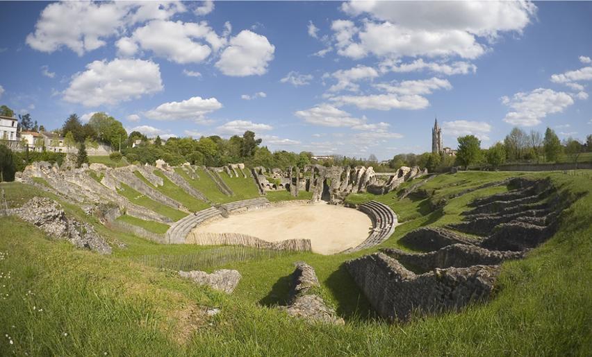 amphithéâtre gallo romain saintes