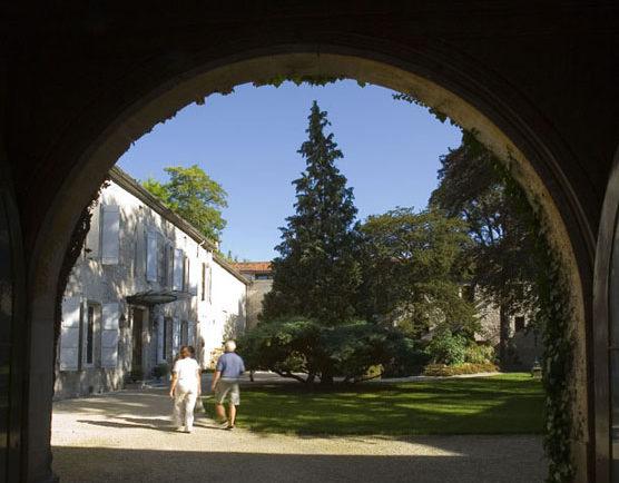 jardin médiathèque saintes