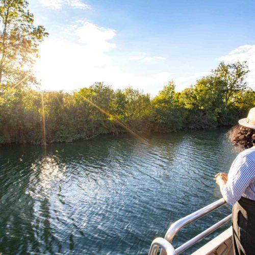 Balade sur bateau electro solaire à Saintes