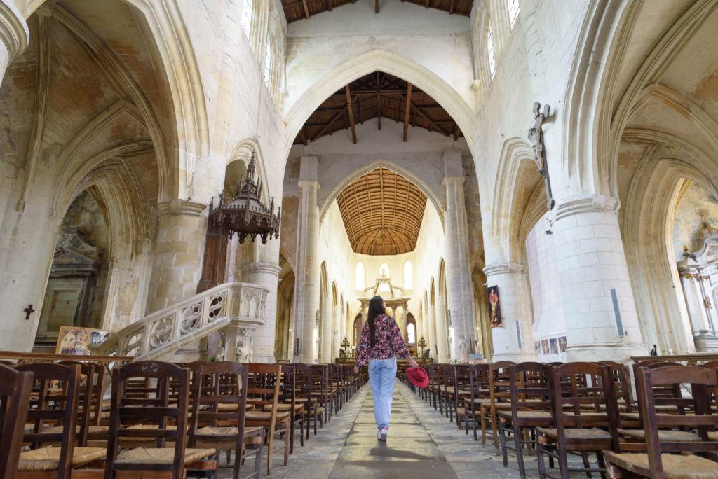 Cathédrale Saint-Pierre à Saintes en Charente-Maritime
