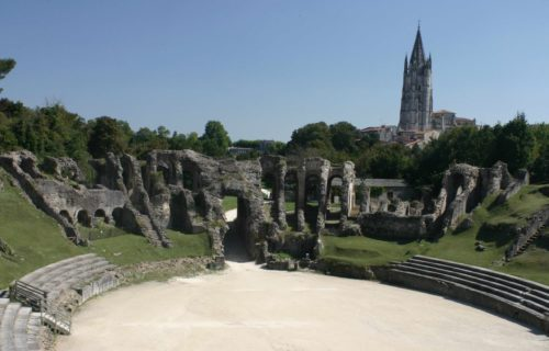 Visite guidee romaine et romaine - amphithéatre gallo romain saintes