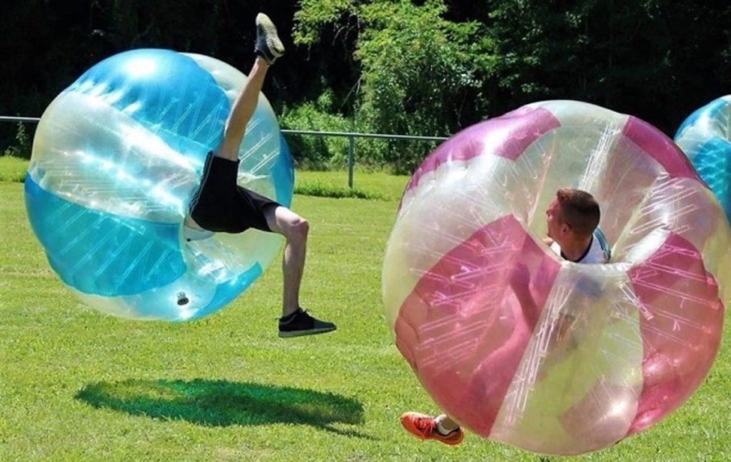 Bubble foot par aventure Fontdouce