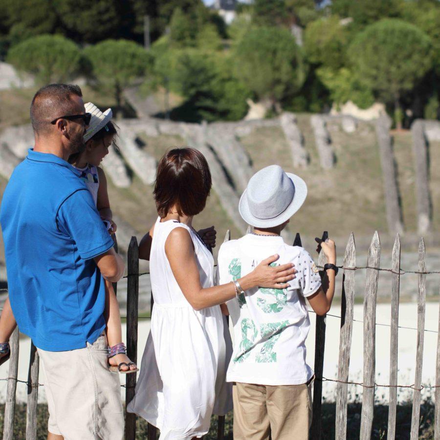 Visites guidées à Saintes en Charente Maritime
