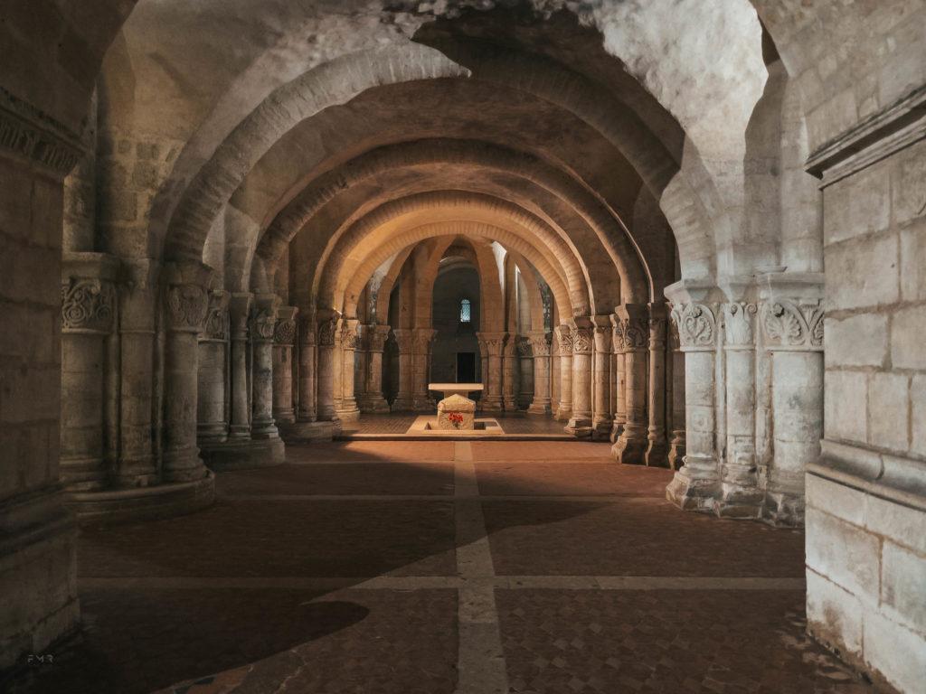 Crypte saint eutrope à saintes