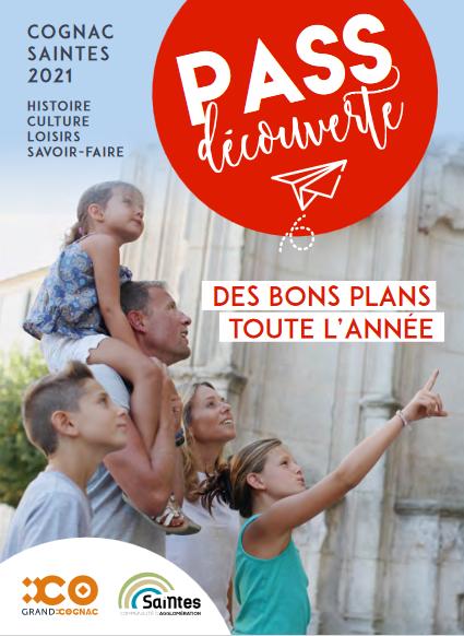 Pass découverte Cognac Saintes 2021